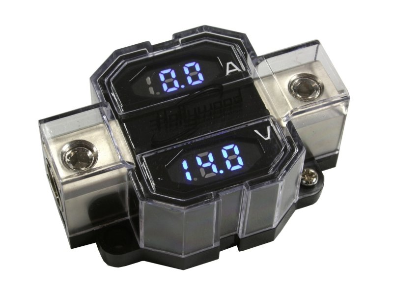 Volt en Ampere meter