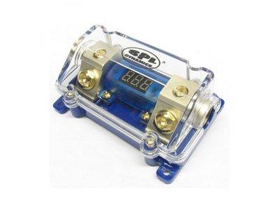 Zekeringhouder ANL met voltmeter