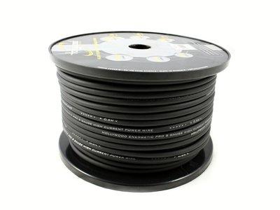 10mm2 Power kabel zwart